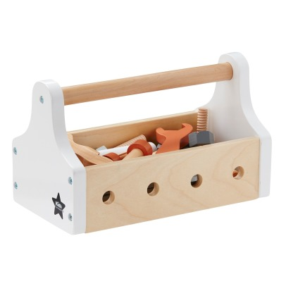 Kid's Concept Wooden Toolbox -listing