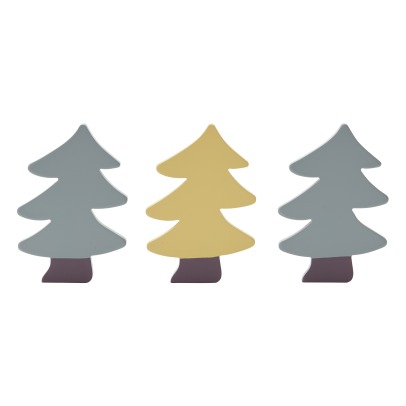 Kid's Concept Sapins en bois - Set de 3-product