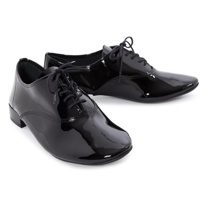 Repetto Charlotte Patent Leather Derby Shoes-listing