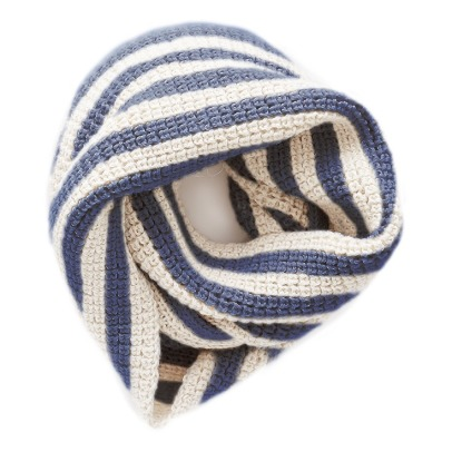 Oeuf NYC Baby Alpaca Wool Striped Snood  -product