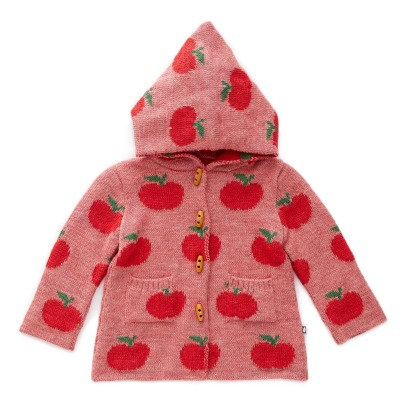 Oeuf NYC Baby Alpaca Wool Apples Burnous -listing
