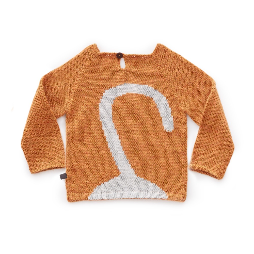 Pull Baby Alpaga Chat Gris-product