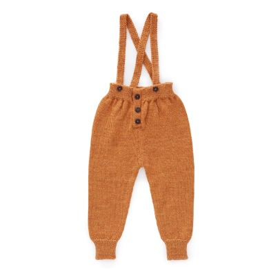 Oeuf NYC Baby Alpaca Wool Trousers with Braces-listing