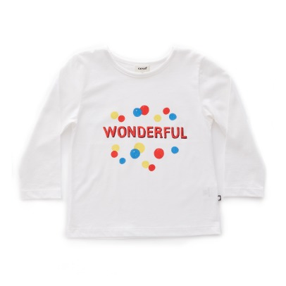 Oeuf NYC T-Shirt Coton Pima Wonderful-listing