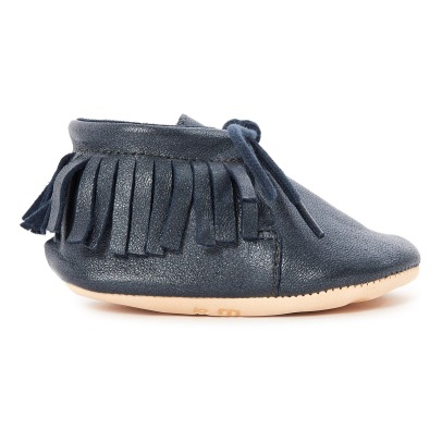 Easy Peasy Chaussons Cuir Meximoo-listing