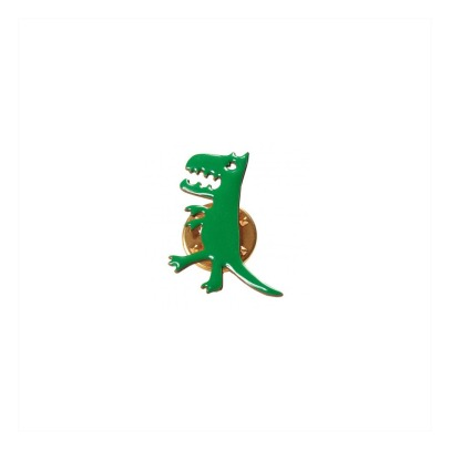 Titlee Pin's Laiton Doré Or Fin Dinosaure Herbert-listing