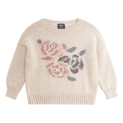 Tocoto Vintage Pull Oversize Fleurs-product