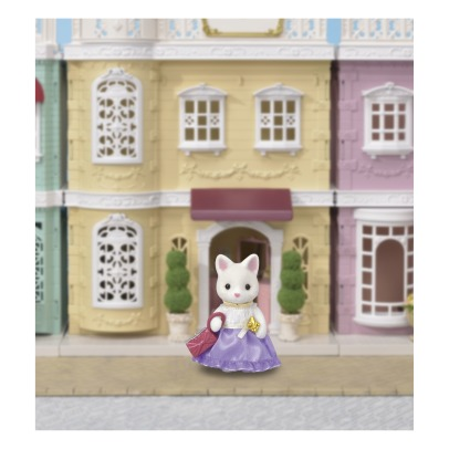 Sylvanian Silk Cat Girl -listing