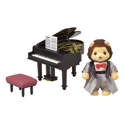 Sylvanian Lion Grand Piano Concert Set -listing