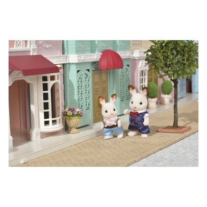 Sylvanian Dress up duo set - Chocolate Rabbits Father and Boy-listing