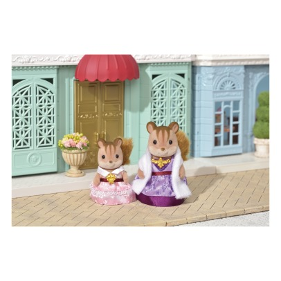 Sylvanian Dress up duo set - Red Squirrels Mother and Girl -listing