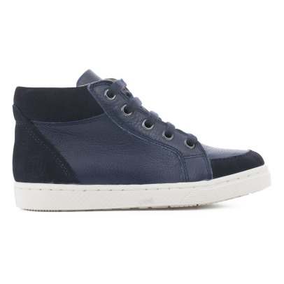10 IS Velvet Laced Trainers -listing