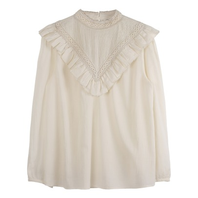Emile et Ida Frilled Blouse - Women's Collection -listing
