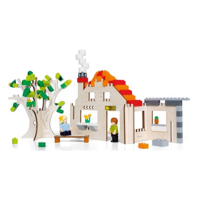 Brikkon Cardboard House Construction Set-listing