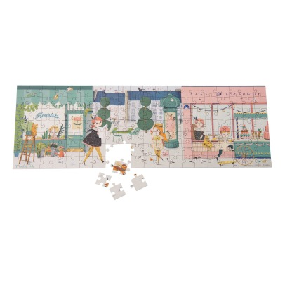 Moulin Roty On the Street 140 Pieces Puzzle -listing