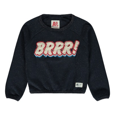 AO76 Brr Sequined Sweatshirt -listing