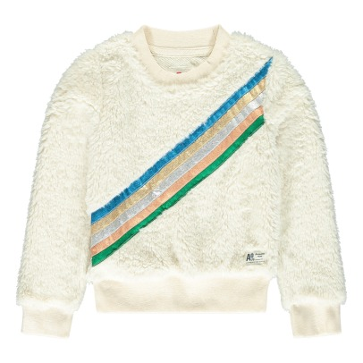 AO76 Sweatshirt Pelz-Optik -listing