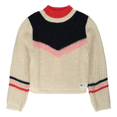 AO76 Mohair Wool Cropped Sweatshirt -listing