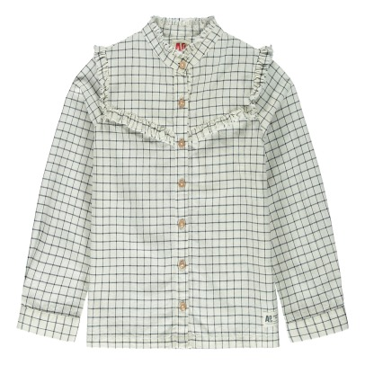AO76 Bloom Checkered Shirt -listing