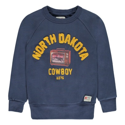 AO76 Sweatshirt Cowboy North Dakota -listing