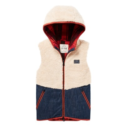 Scotch & Soda Sweat Sherpa Capuche-listing