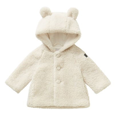Il Gufo Faux Fur Hoodie with Ears -listing