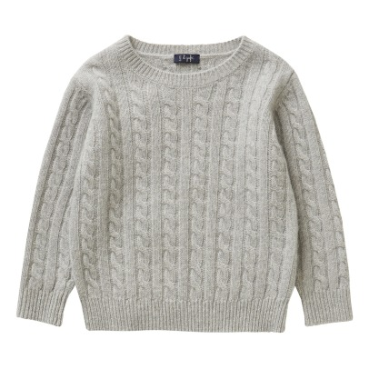 Il Gufo Cable Knit Jumper -listing