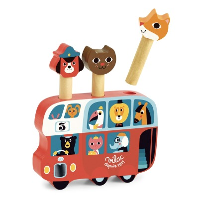 Vilac Wooden bus by Ingela P.Arrhenius-listing
