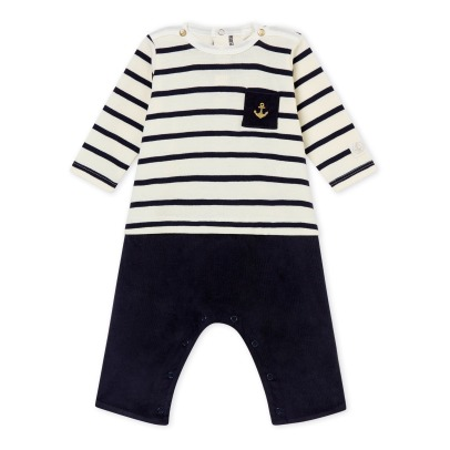 Petit Bateau Velours Overall Take -listing