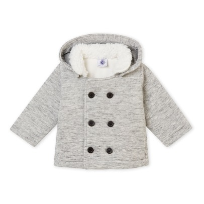 Petit Bateau Coat with removable Hoodie -listing