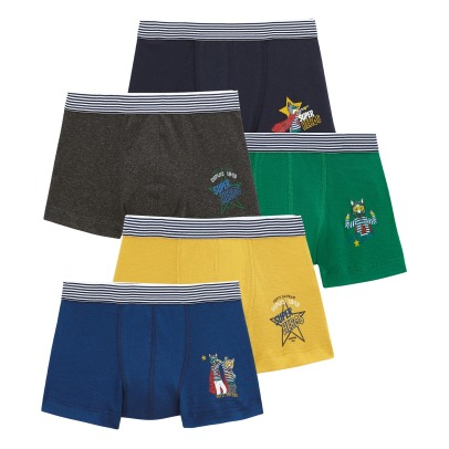 Petit Bateau Lot of 5 Heroes Boxers-listing