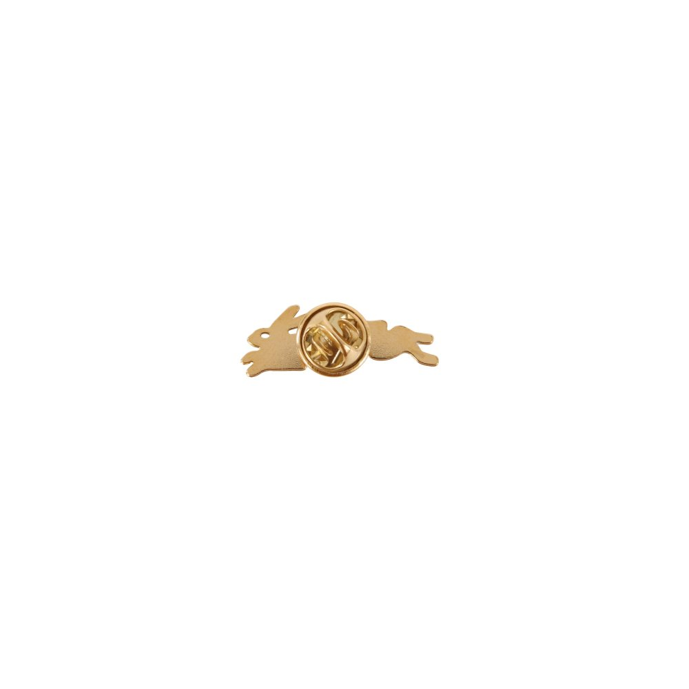 Griffin Rabbit Gold Brass Pin-product