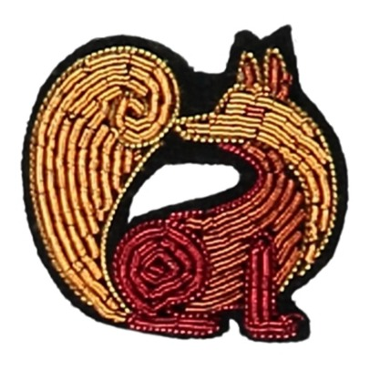 Macon & Lesquoy Fox Brooch-listing