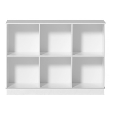 Oliver Furniture Wood Shelf 3x2 with Base-listing