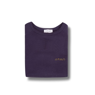 "Maison Labiche ""Amour"" Embroidered Sweatshirt - Women's Collection -listing"