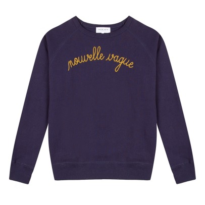 "Maison Labiche ""Nouvelle Vague"" Embroidered Sweatshirt - Women's Collection -listing"