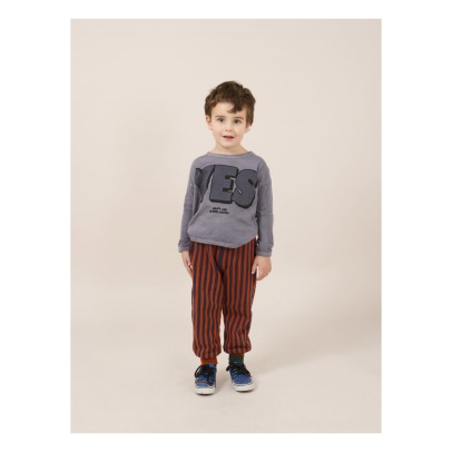 Bobo Choses T-Shirt aus Bio-Baumwolle Yes, No-listing
