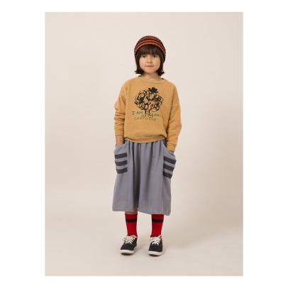 Bobo Choses Sweat Coton Bio Confused-listing