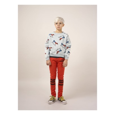 Bobo Choses Dogs and Cats Organic Cotton Sweatshirt-listing