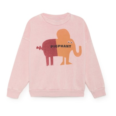 Bobo Choses Sweat Coton Bio Elephant-listing