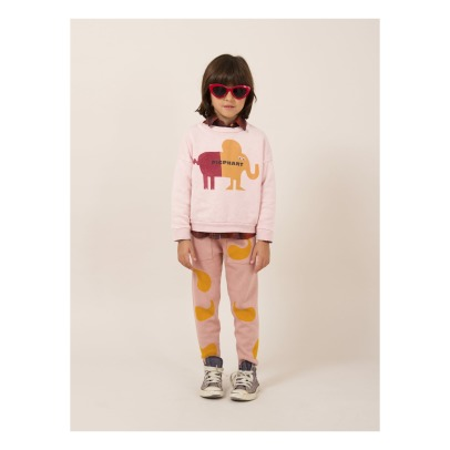 Bobo Choses Elephant Organic Cotton Sweatshirt-listing