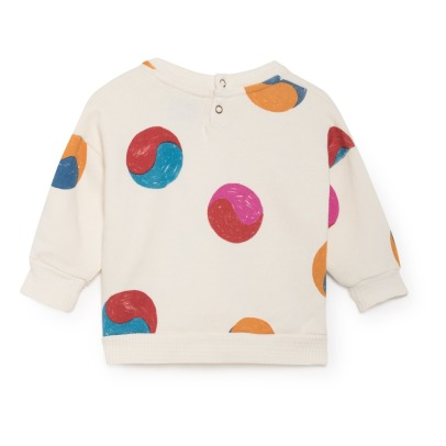 Bobo Choses Ying Yang Organic Cotton Sweatshirt-listing