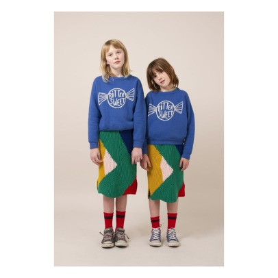 Bobo Choses Sweat Coton Bio Bonbon-listing