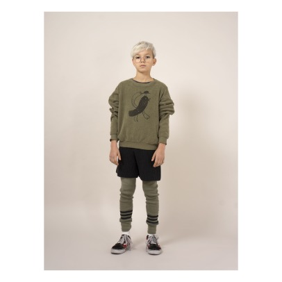 Bobo Choses Bird Organic Cotton Sweatshirt-listing