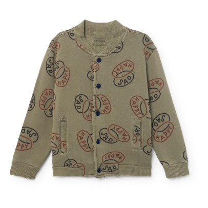Bobo Choses Happy Sad Organic Cotton Sweatshirt-listing