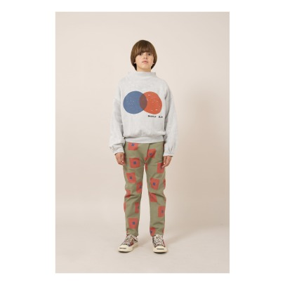 Bobo Choses Polka Dot Organic Cotton Sweatshirt-listing