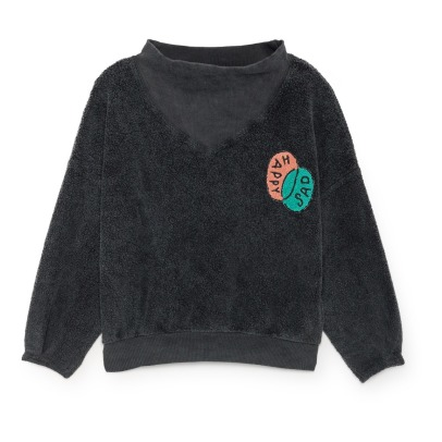 Bobo Choses Sweat Coton Bio Molleton Gratté-listing