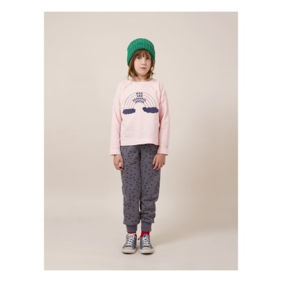 Bobo Choses Polka Dot Organic Cotton Jogging Bottoms -listing