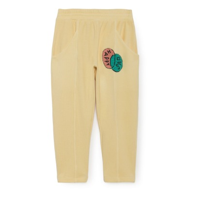 Bobo Choses Joggers aus Bio-Baumwolle Happy Sad-listing