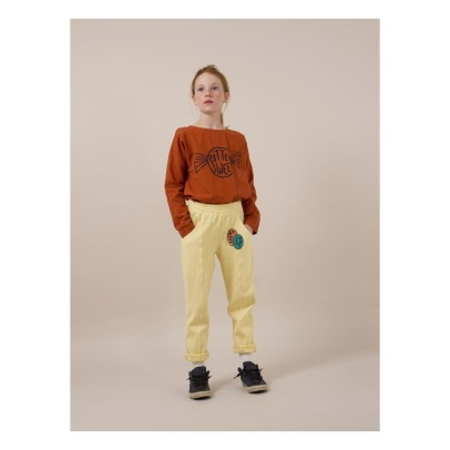Bobo Choses Happy Sad Organic Cotton Jogging Bottoms -listing